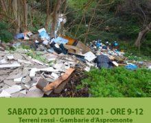 Puliamo l'Aspromonte: C.A.I. sezione Aspromonte e Legambiente insieme per pulire l'area terreni rossi a Gambarie.