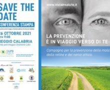 Campagna nazionale vista in salute, conferenza stampa di presentazione della tappa in Calabria